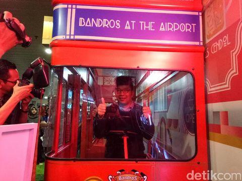Uniknya <i>Memorable Corner</i> di Bandara Husein Sastranegara Bandung