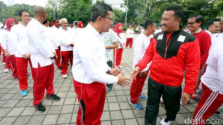 Rayakan Harkitnas, Menpora Ajak Masyarakat Dukung Indonesia di Piala Sudirman
