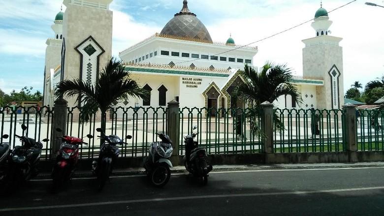 Masjid Agung Babussalam Sabang (Bona/detikTravel)