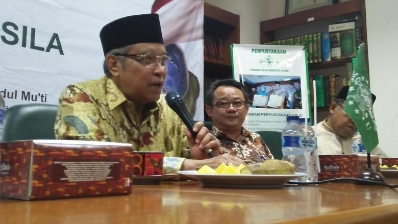 Saat NU dan Muhammadiyah Duduk Bareng Bahas HTI