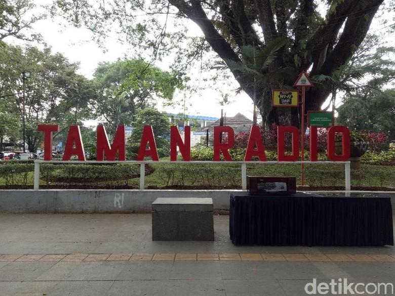 Taman Flexi di Dago Kini Diresmikan Jadi Taman Radio