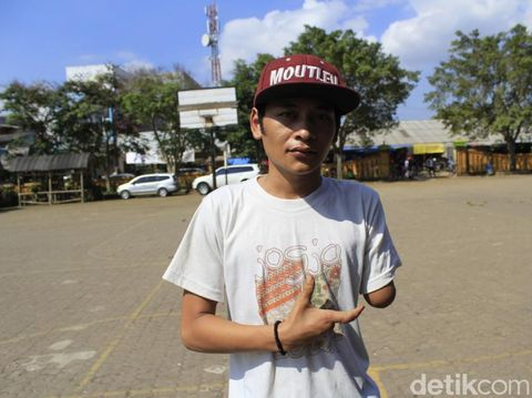 Dwikaraksa (20) korban dari pelaku yang tengah mabok