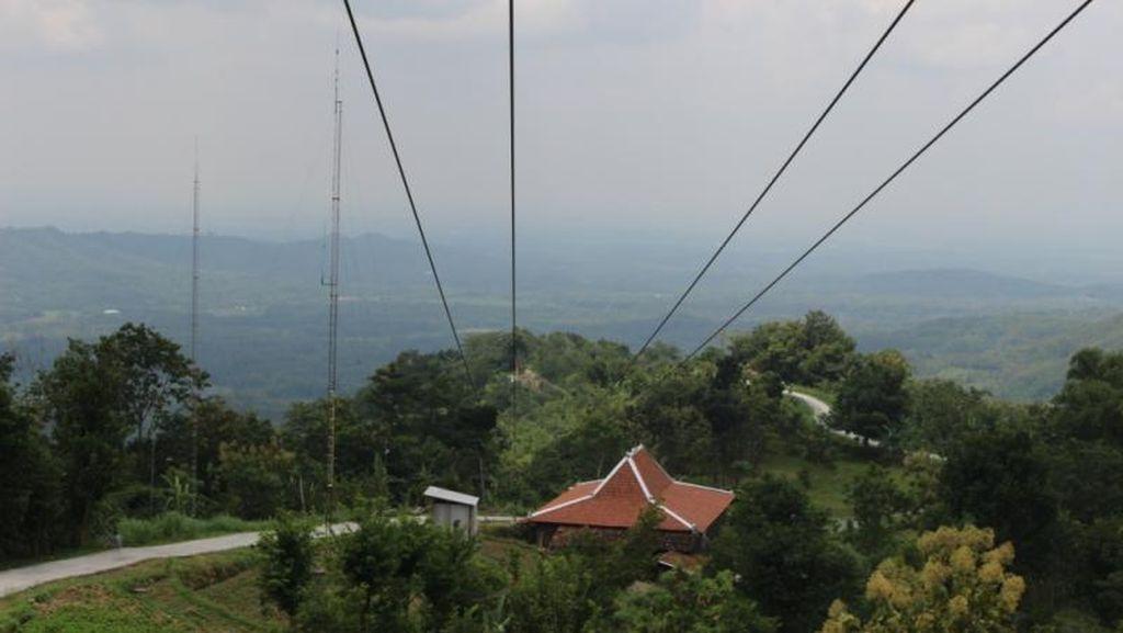 Di Gunungkidul Bakal Ada Flying Fox Sepanjang 623 Meter