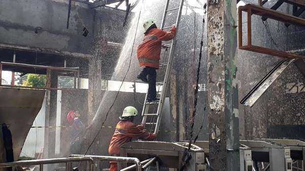 PT KAI Daop I: Tak Ada Korban Jiwa di Kebakaran Stasiun Klender