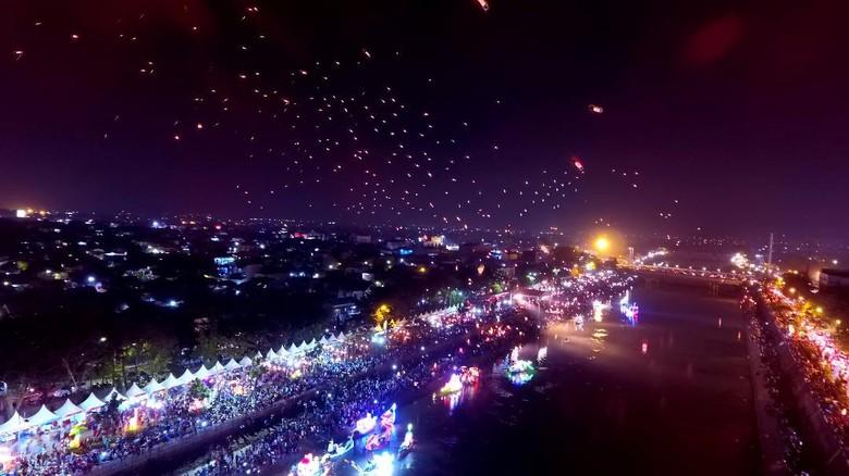 Festival BKB tadi malam (Angling/detikTravel)