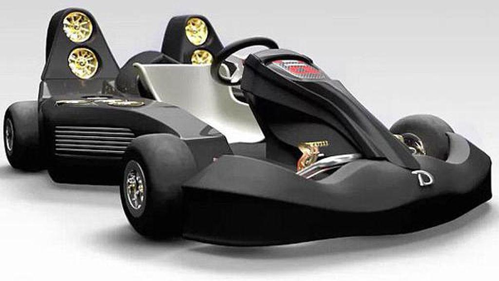 Ini Gokart Tercepat di Dunia, Kalahkan Kecepatan Mobil F1