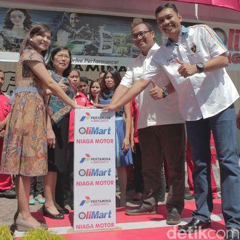 Manjakan Konsumen, Olimart Pertama Diluncurkan di Blitar