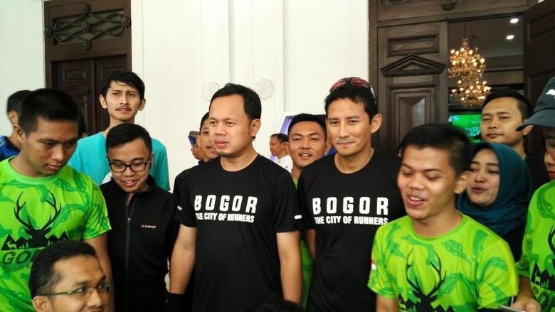 Sandiaga Janjikan Integrasi Programnya dengan Pemkot Bogor