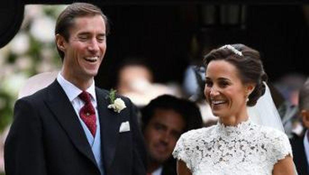 Pippa Middleton Resmi Menikah dengan Miliuner