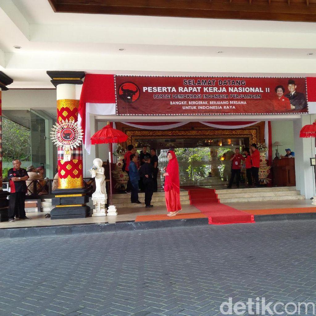 Rakernas PDIP di Bali Ditutup Hari Ini