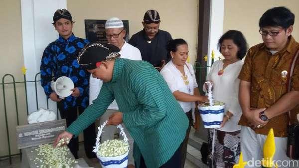IDI Yogyakarta Ziarah ke Makam dr Wahidin, Penggagas Boedi Oetomo