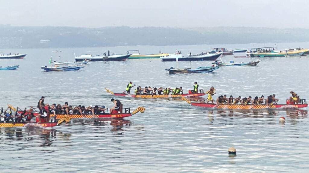 Pertama Kali di Bali, Festival Dragon Boat Diikuti 9 Negara