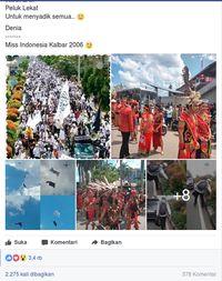 Miss Kalbar Bicara Indahnya 'Merah-Putih' dan Kutuk Provokasi