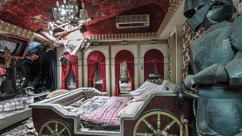 Love Hotel Fuurin yang konon berhantu (dok. CNN Travel/Bob Thissen)