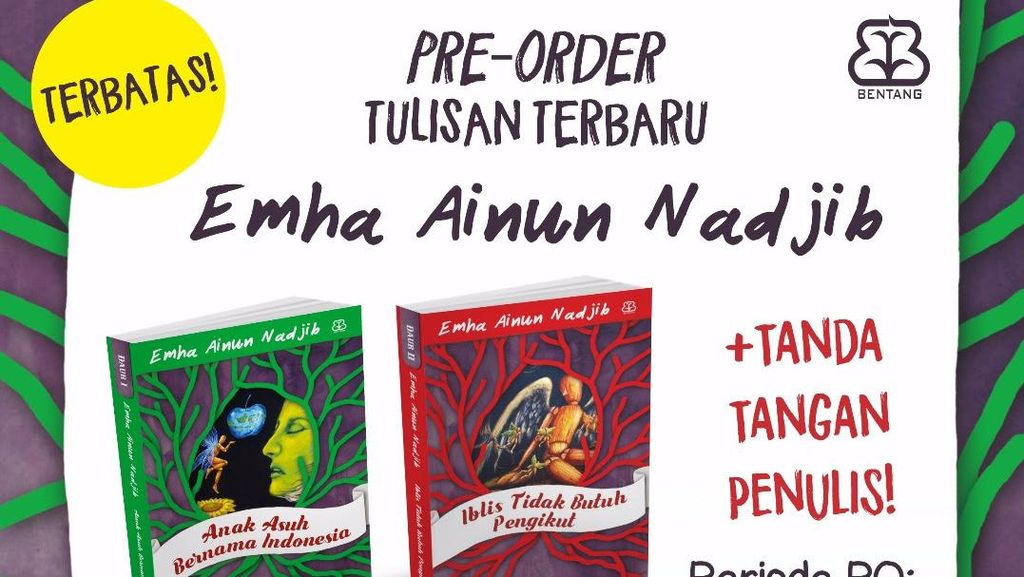 Pre Order Buku Terbaru Cak Nun Dibuka