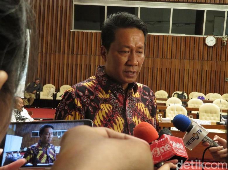 F-Gerindra Bantah Tolak Arief Hidayat Kembali Jadi Hakim MK
