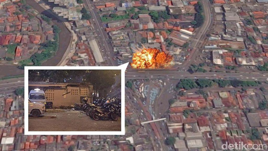 Bom Kampung Melayu Gegerkan Netizen, #PrayForJakarta Berkumandang