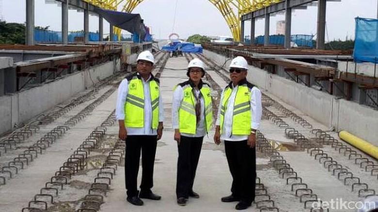 Biaya Bangun LRT Palembang Ditalangi Waskita, Bagaimana Gantinya?