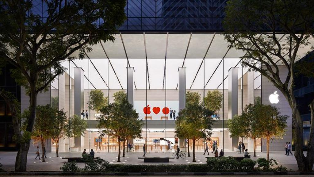 Fakta Menarik Apple Orchard Road Singapura
