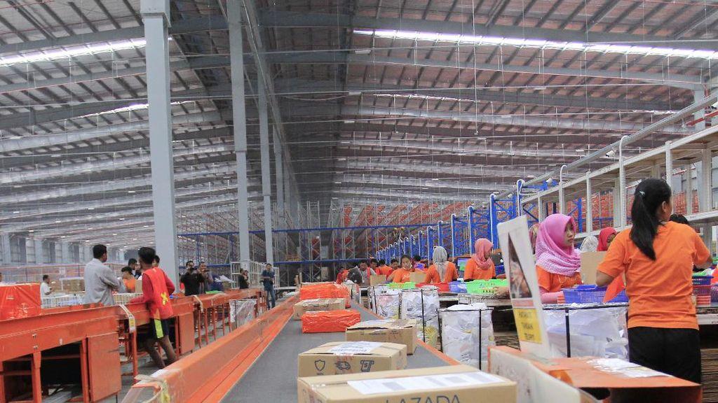 Lazada Catat Rekor Penjualan Rp 1,6 Triliun