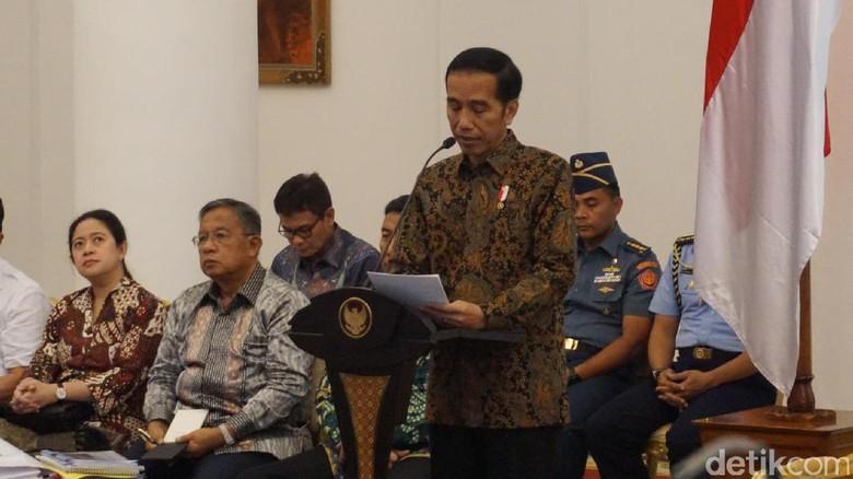 Jokowi Minta Program Padat Karya Cash Dimulai di Kementerian Ini