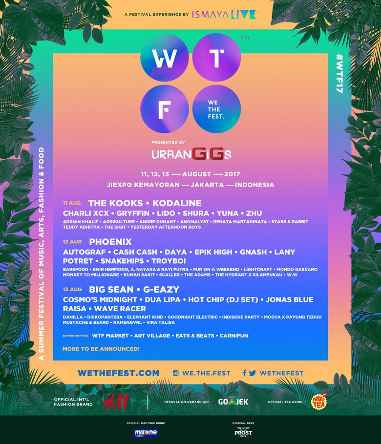 Siap Seru-seruan di We The Fest 2017 Sore Ini?