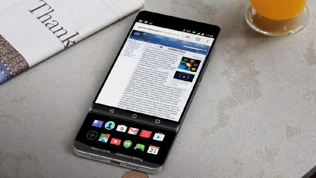 LG V30 Usung Layar OLED FullVision 6 Inch