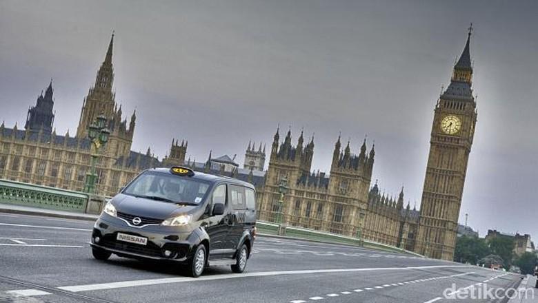Nissan, Jawaranya Mobil Taksi Listrik