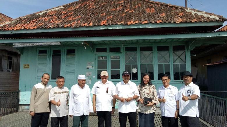 Menpar Arief Yahya kunker ke Kampung Arab didampingi Gubernur Sumsel dan jajarannya (Raja Adil/detikTravel)