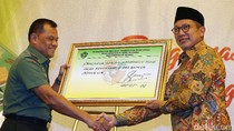 Panglima TNI Hadiri Workshop Peneguhan Pancasila