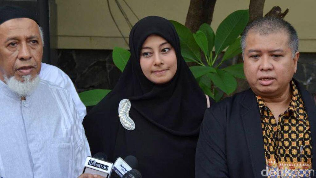 Diam-diam Putri Aisyah Laporkan Ustad Al Habsyi ke Polda Atas Dugaan KDRT