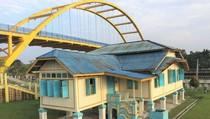 Rumah Cantik di Tepi Sungai Siak Pekanbaru, Punya Siapa Ini?