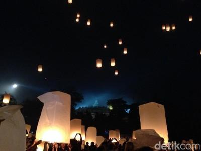 2.500 Lampion Akan Meriahkan Malam Pergantian Tahun di Borobudur