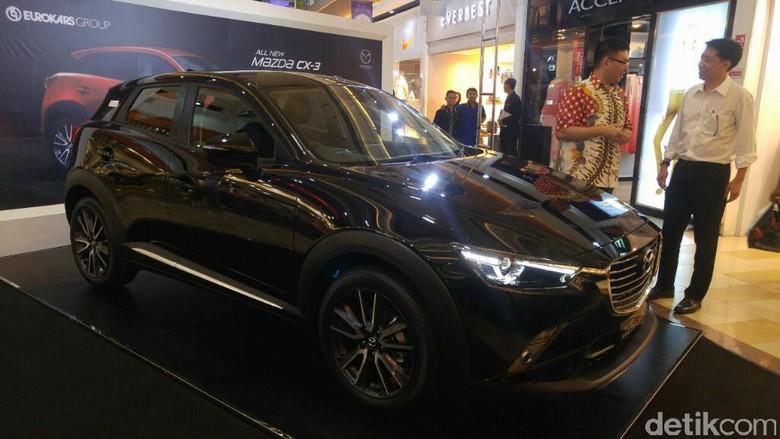 Pameran di 5 Kota, Eurokars Bangun Kepercayaan Konsumen Mazda