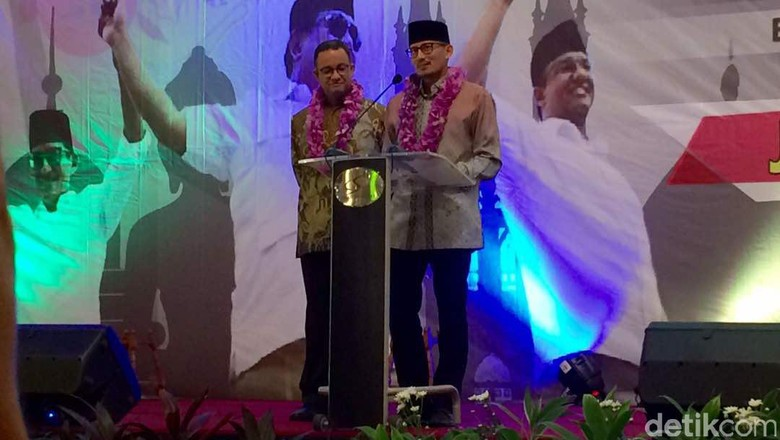 Gerindra Harap Anies-Sandi Teruskan Program Jokowi-Ahok-Djarot