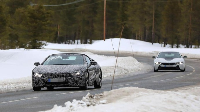 BMW i8 Spyder Terbaru Diuji