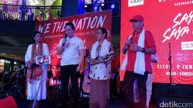 Acara Pekan Pancasila di Cilandak Town Square.