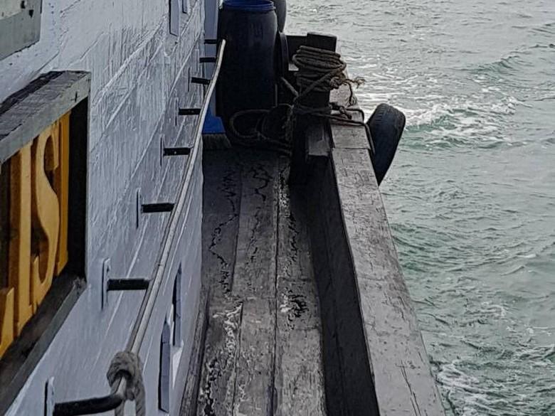 Patroli Polair di Batam Tangkap Kapal Pembawa Sayuran Ilegal