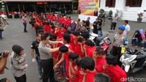 Dua Minggu, Polrestabes Surabaya Amankan 156 Pelaku Kejahatan
