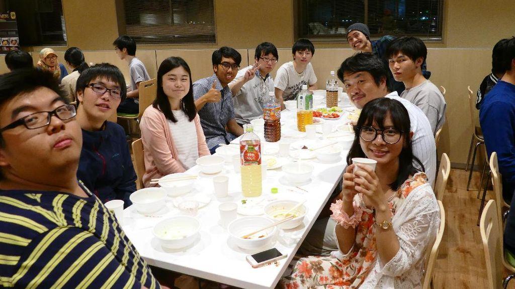 Gelar Bukber di Kampus Jepang, Mahasiswa RI Kenalkan Ramadan