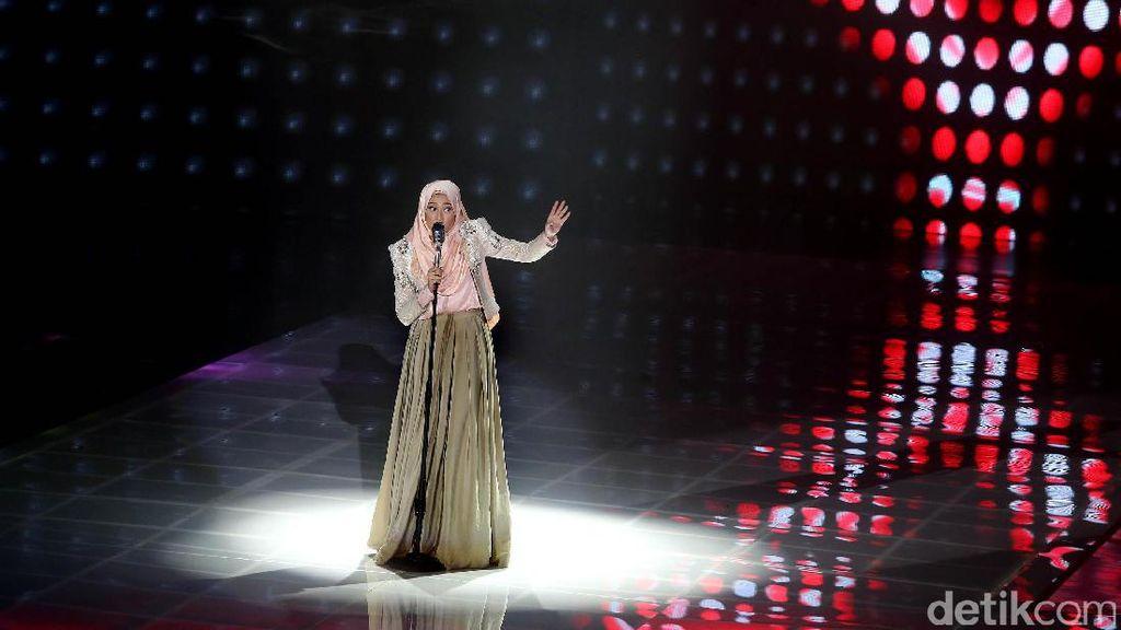 4 Finalis Adu Kemampuan Vokal di Final Sunsilk Hijab Hunt 2017