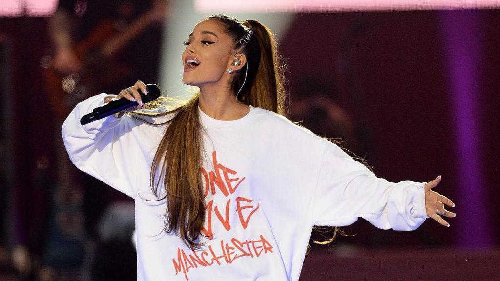 Ariana Grande Melawan Rasa Takut di No Tears Left to Cry