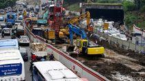 Imbas Pembangunan LRT Jabodebek, Lalin Tersendat