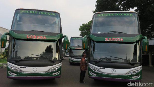 Bus tingkat Mercy untuk Lorena