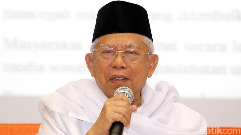 Ketum Tidak Perlu Lagi - Jakarta Ketum MUI Amin menanggapi rencana Reuni Alumni Menurut reuni itu tak perlu Itu sudah Masalah yang diusung