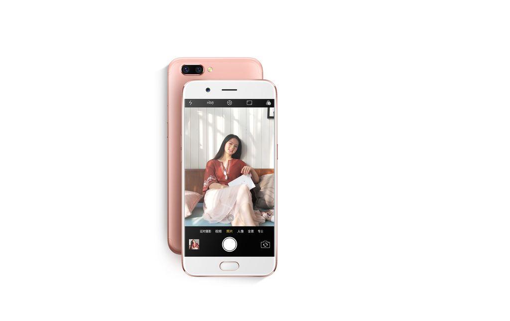 Ponsel ini menjadi penerus R9. Foto: Oppo