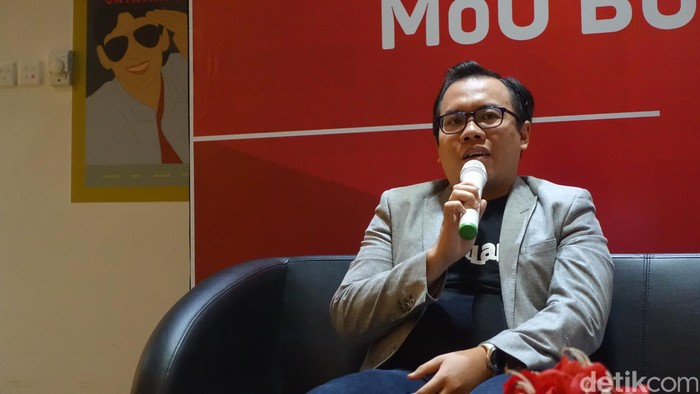 CFO Bukalapak Muhammad Fajrin Rasyid (Foto: Rachmatunnisa/detikINET)