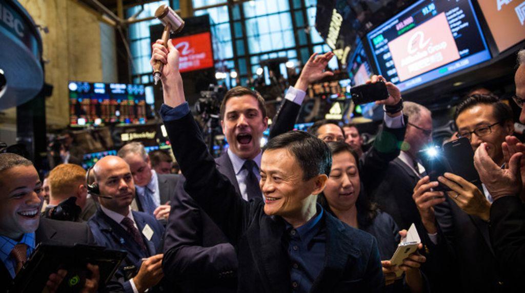 Pendiri sekaligus CEO Alibaba Jack Ma adalah sosok kontroversial. Sebagian mungkin membencinya, namun bagi sebagian lainnya, dia dianggap trendsetter, pahlawan internet dan panutan. Foto: Getty Images