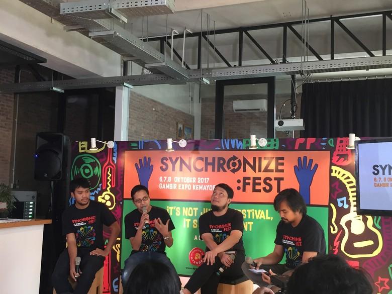 Selain Ebiet G Ade, Synchronize Fest Tambah Penampil Baru