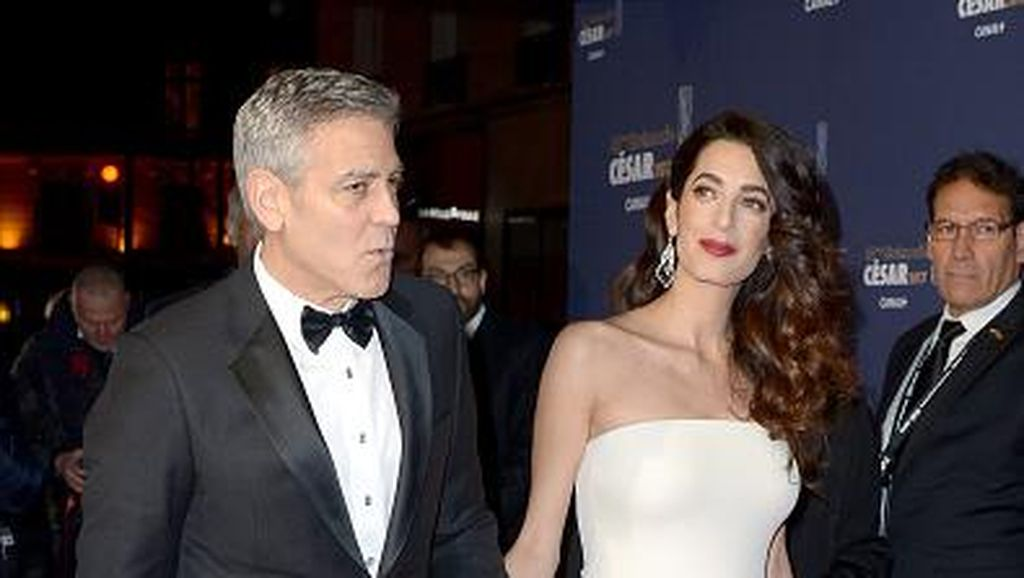 Inspirasi Gaya Kehamilan Amal, Istri George Clooney yang Stylish